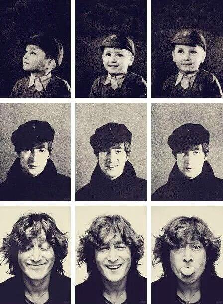 The many faces of John Lennon.