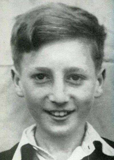 John Lennon circa 1948.