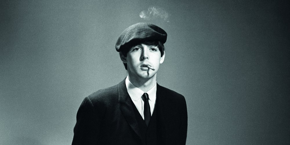 Paul McCartney, 1964. Photo by Ringo Starr.