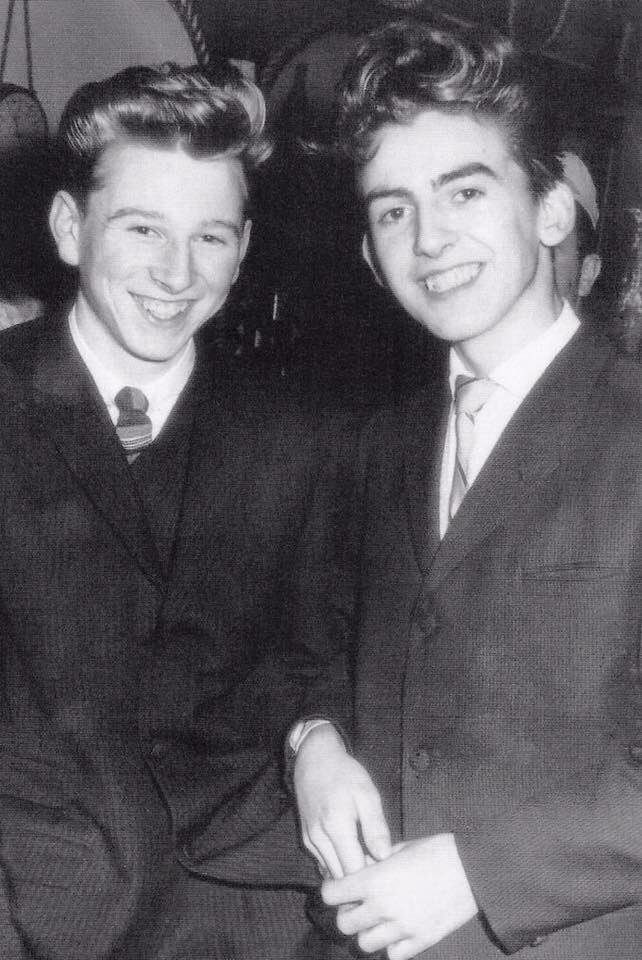 George Harrison age 15.