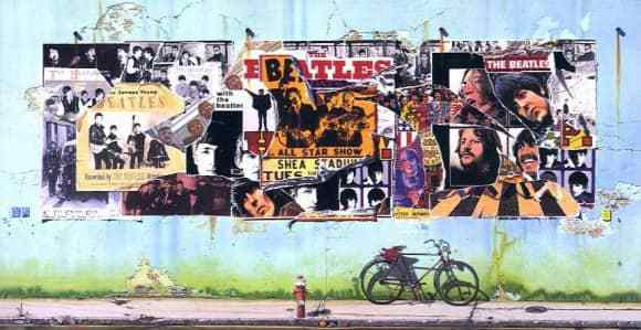 The Beatles' Anthology covers.