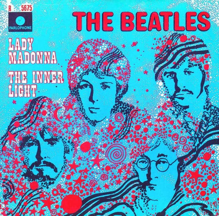 Lady Madonna/The Inner Light single.