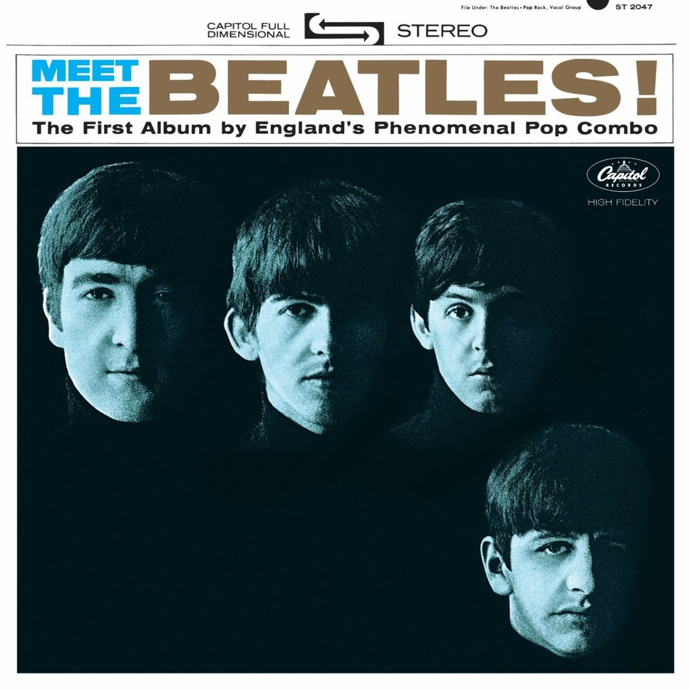 Meet The Beatles front cover, 1964.