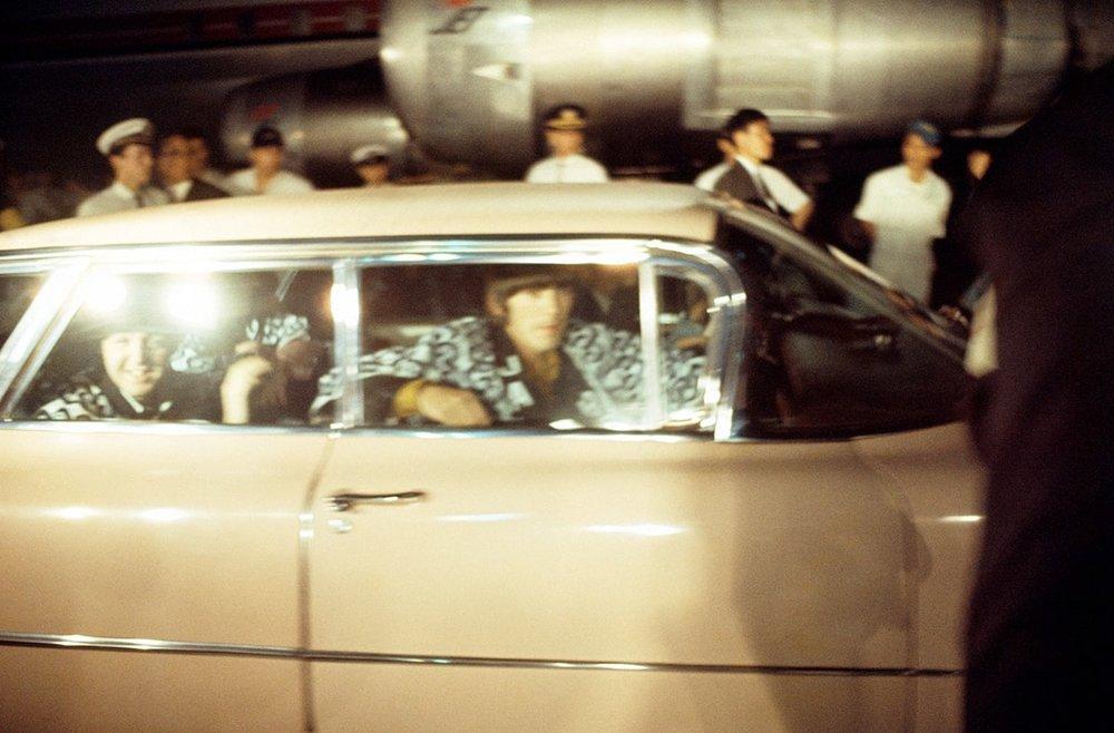The Beatles in Tokyo, June 1966.