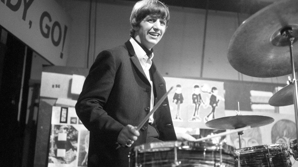 Ringo Starr on Ready, Steady,Go! circa 1963.