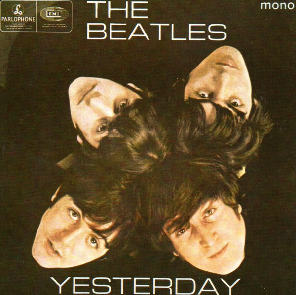 Yesterday EP front cover, 1966.