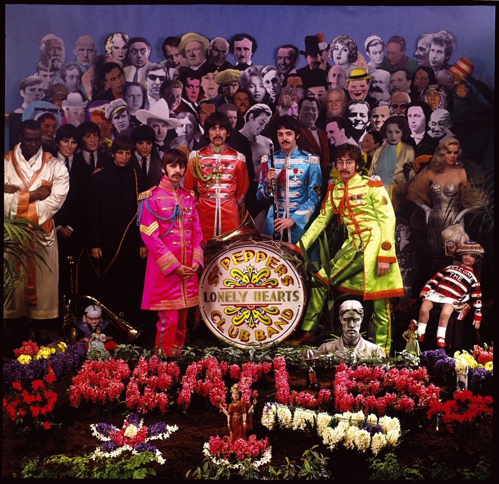 Alternate cover for Sgt Pepper, 1967.