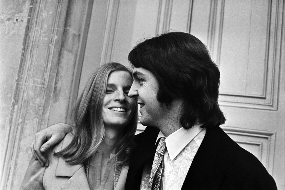Paul and Linda McCartney, March 12th 1969.