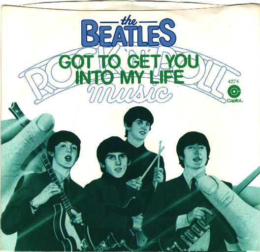 Got to Get You into My Life single, 1976.