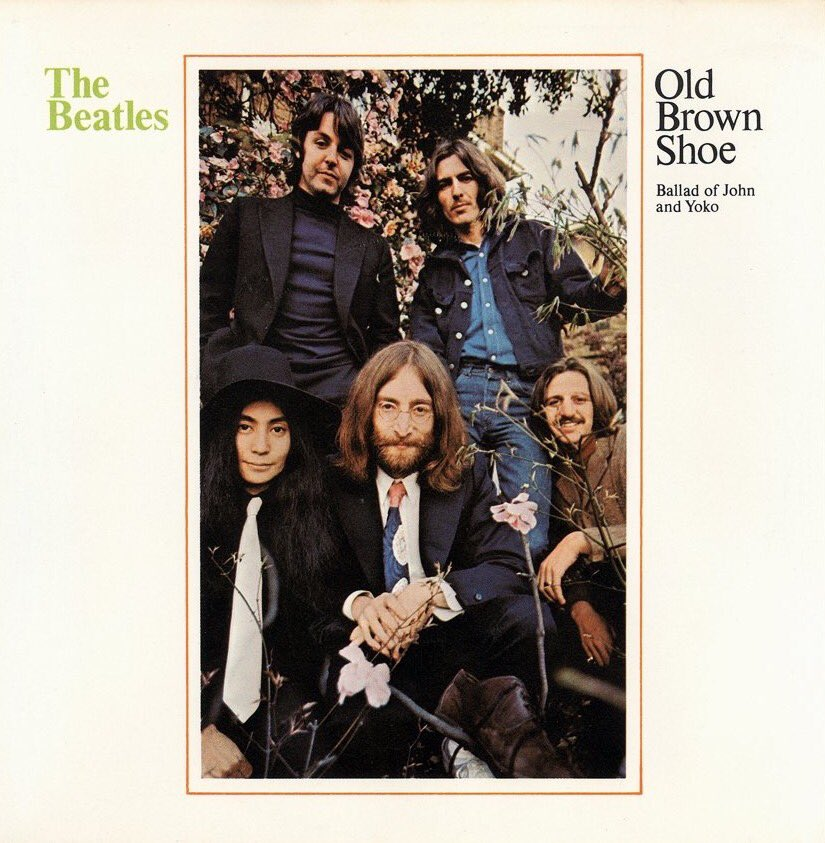 The Ballad of John and Yoko single, 1969.