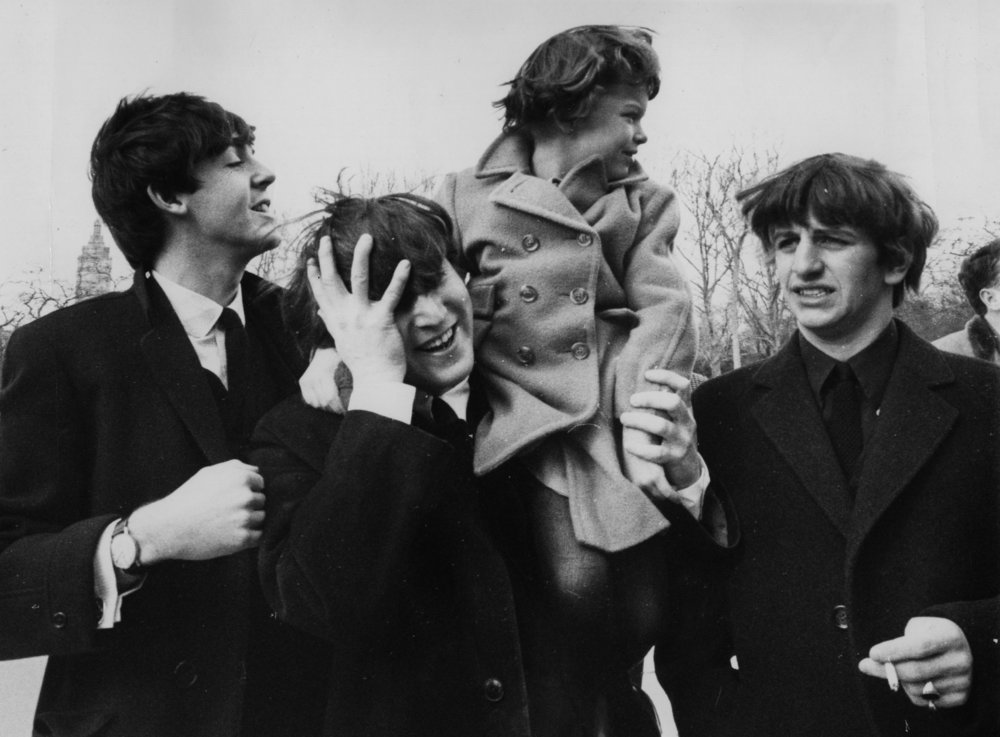 The Beatles in Central Park, February 8th 1964.