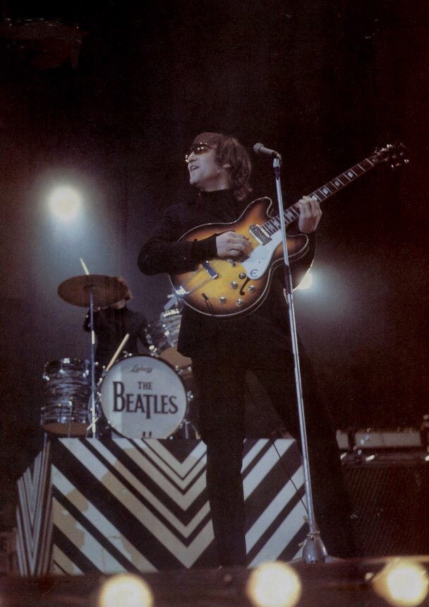 John Lennon at the NME Poll Winners' Concert' May 1st 1966.