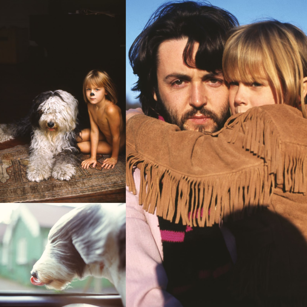 Paul and Heather McCartney circa 1970.