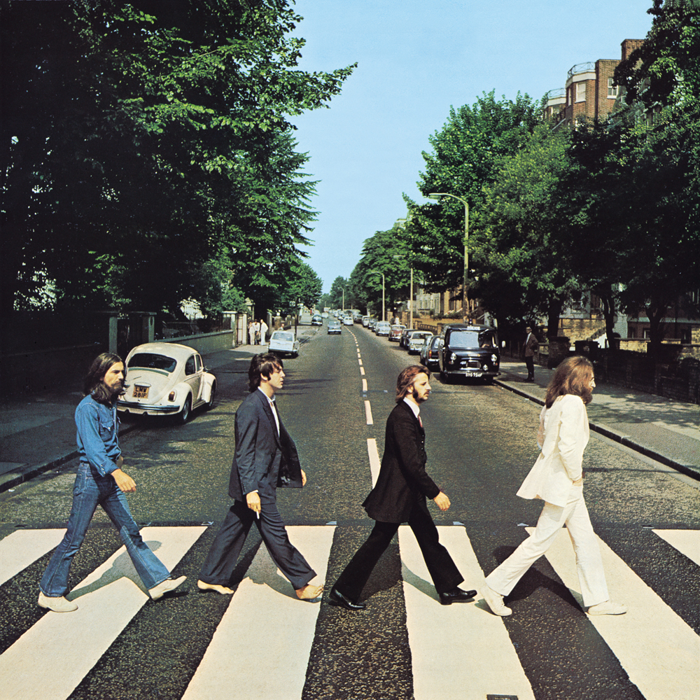 Abbey Road album cover, 1969.