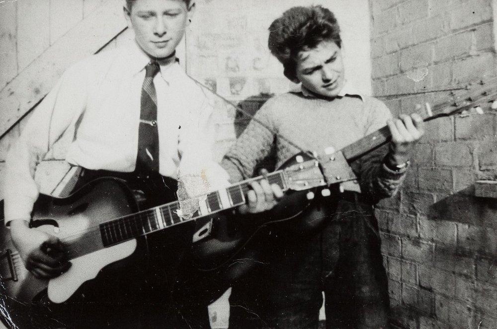 George Harrison, 1957.