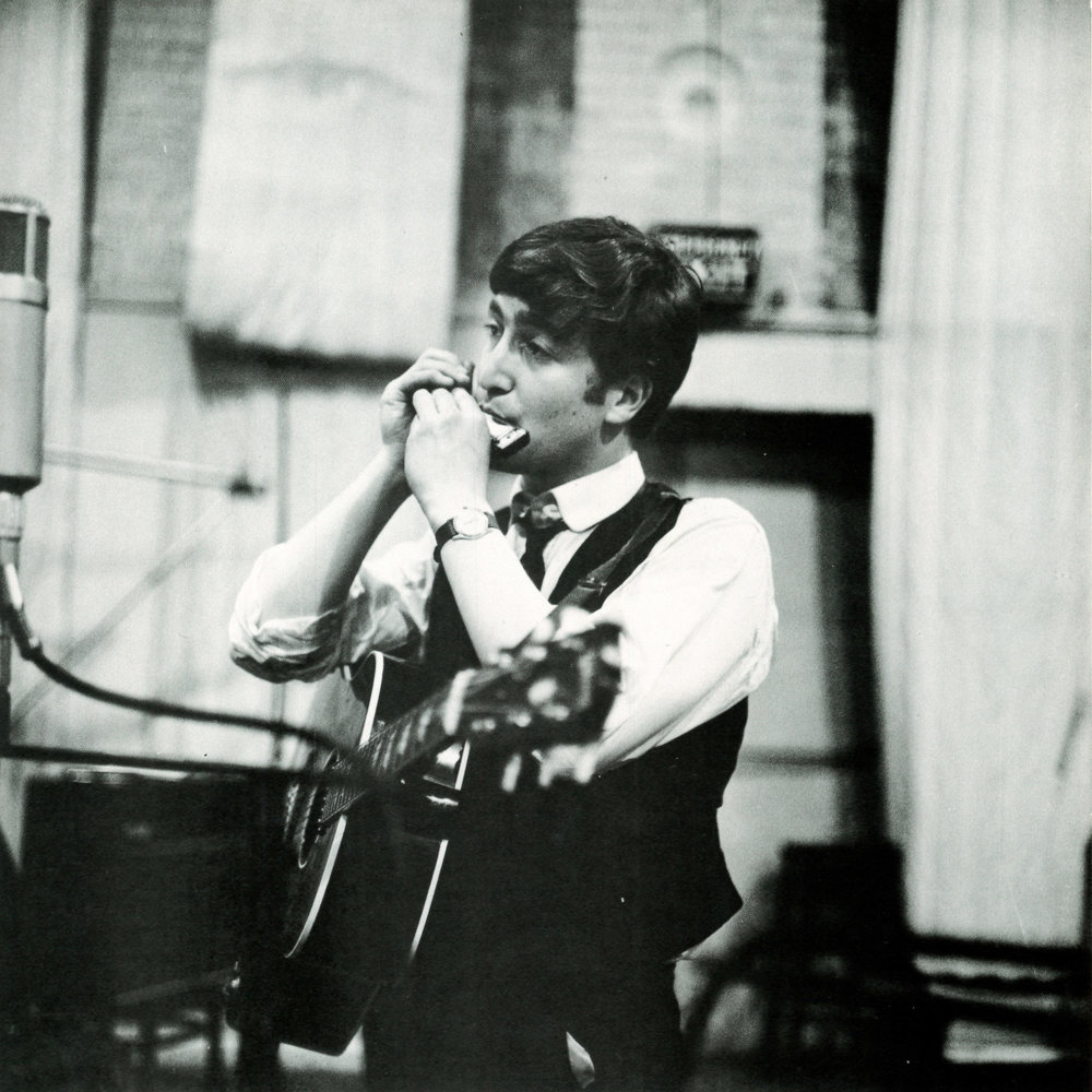 John Lennon recording From Me to You, March 5th 1963.