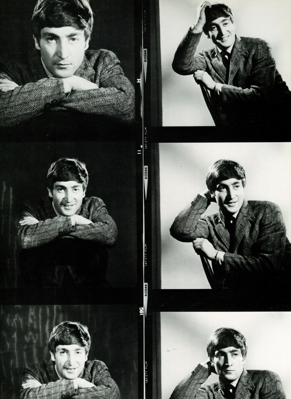 John Lennon 1963 - photos by Dezo Hoffman.