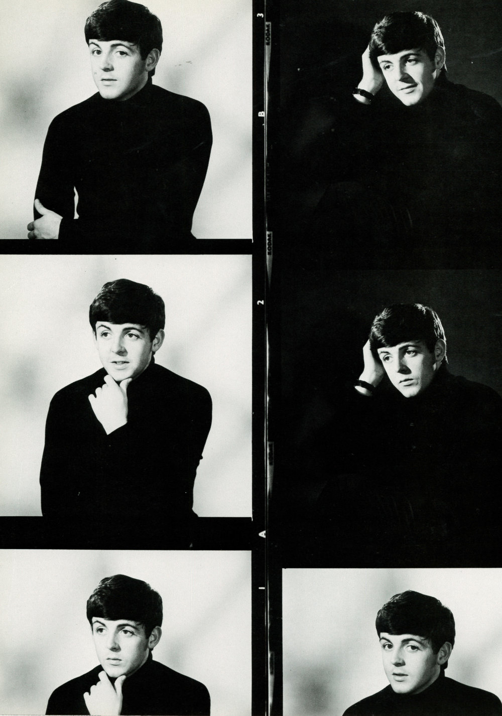 Paul McCartney 1963 - photos by Dezo Hoffman.