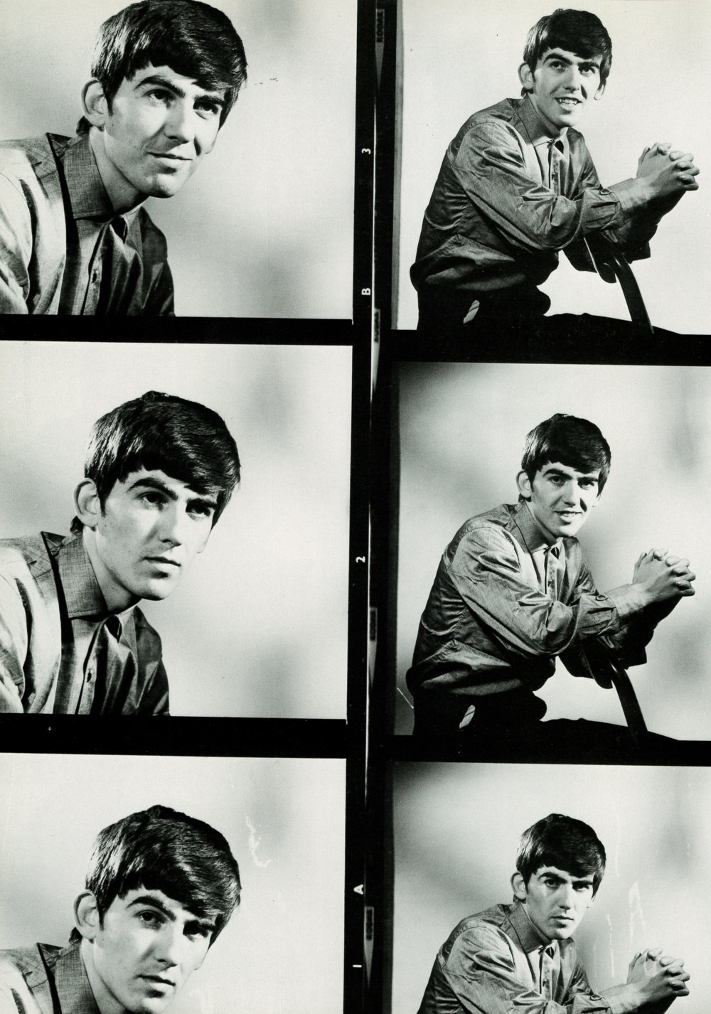 George Harrison 1963 - photos by Dezo Hoffman.