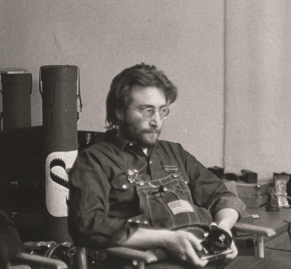 John Lennon in New York, 1970.