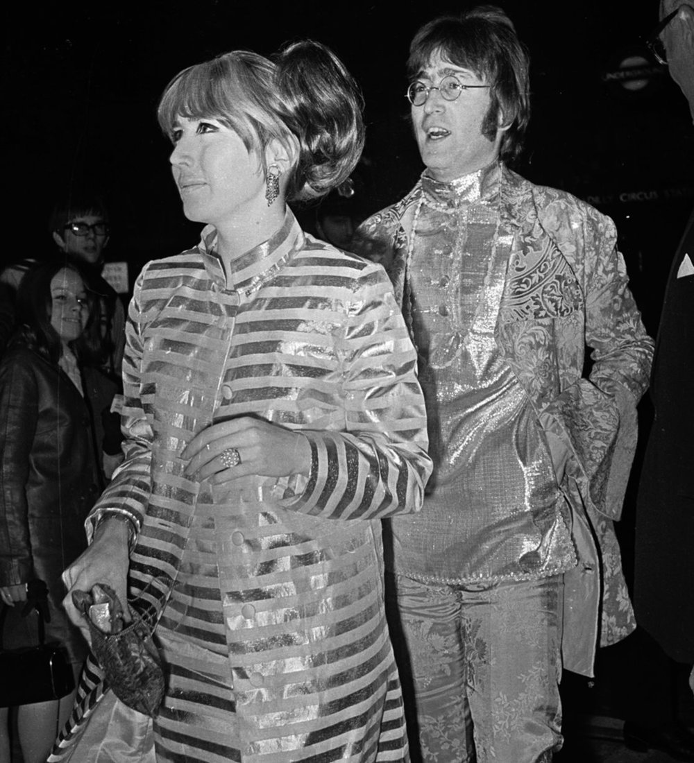 John and Cynthia Lennon at the premiere of How I Won the War, October 18th 1967.