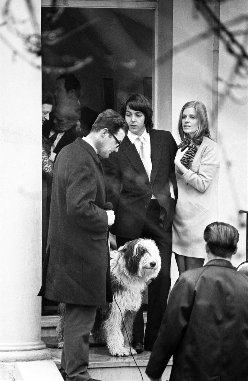 Paul And Linda McCartney March 12th 1969