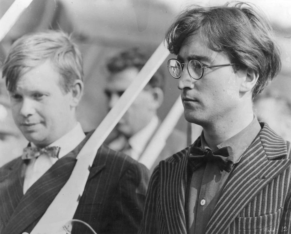 John Lennon and Ronald Lacey, 1966.