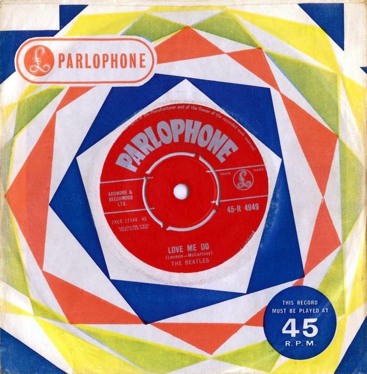 Love Me Do single, 1963.