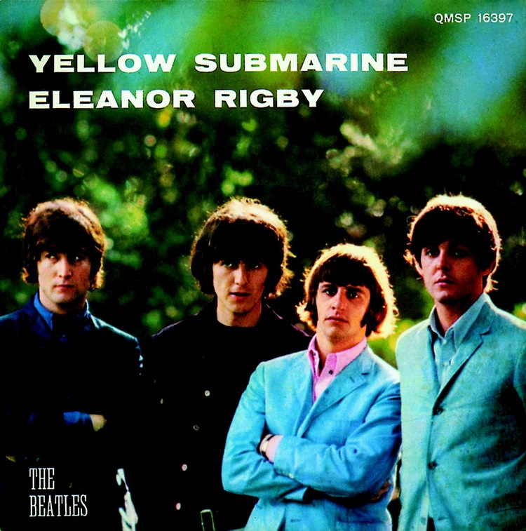 Yellow Submarine/Eleanor Rigby double A-sided single, 1966.