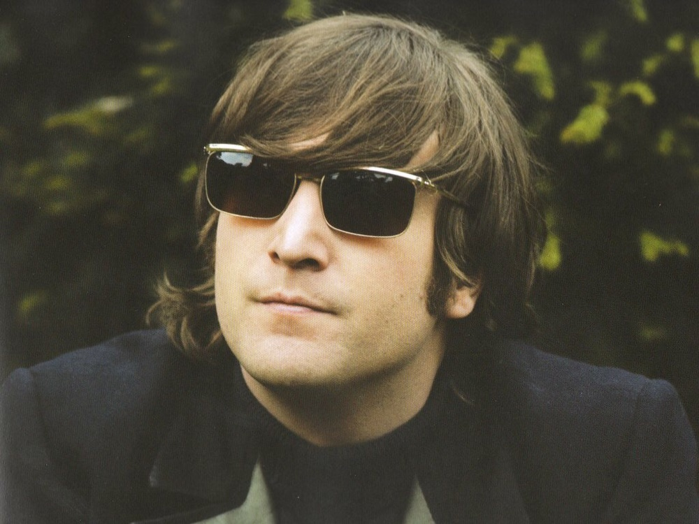 John Lennon filming the Paperback Writer promo at Chiswick House, May 20th 1966.