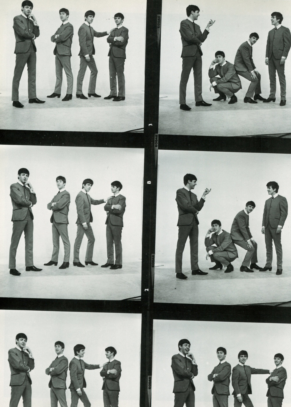 The Beatles 1963 - photo by Dezo Hoffman.