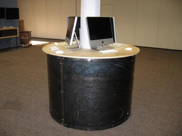 Custom computer station