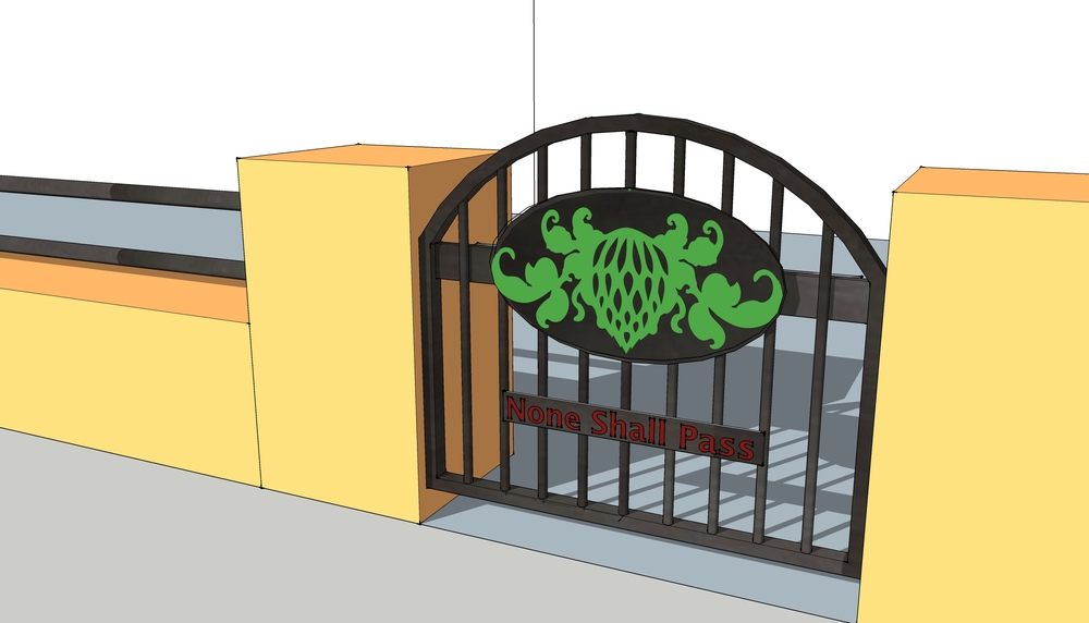 Custom gate design for WWB