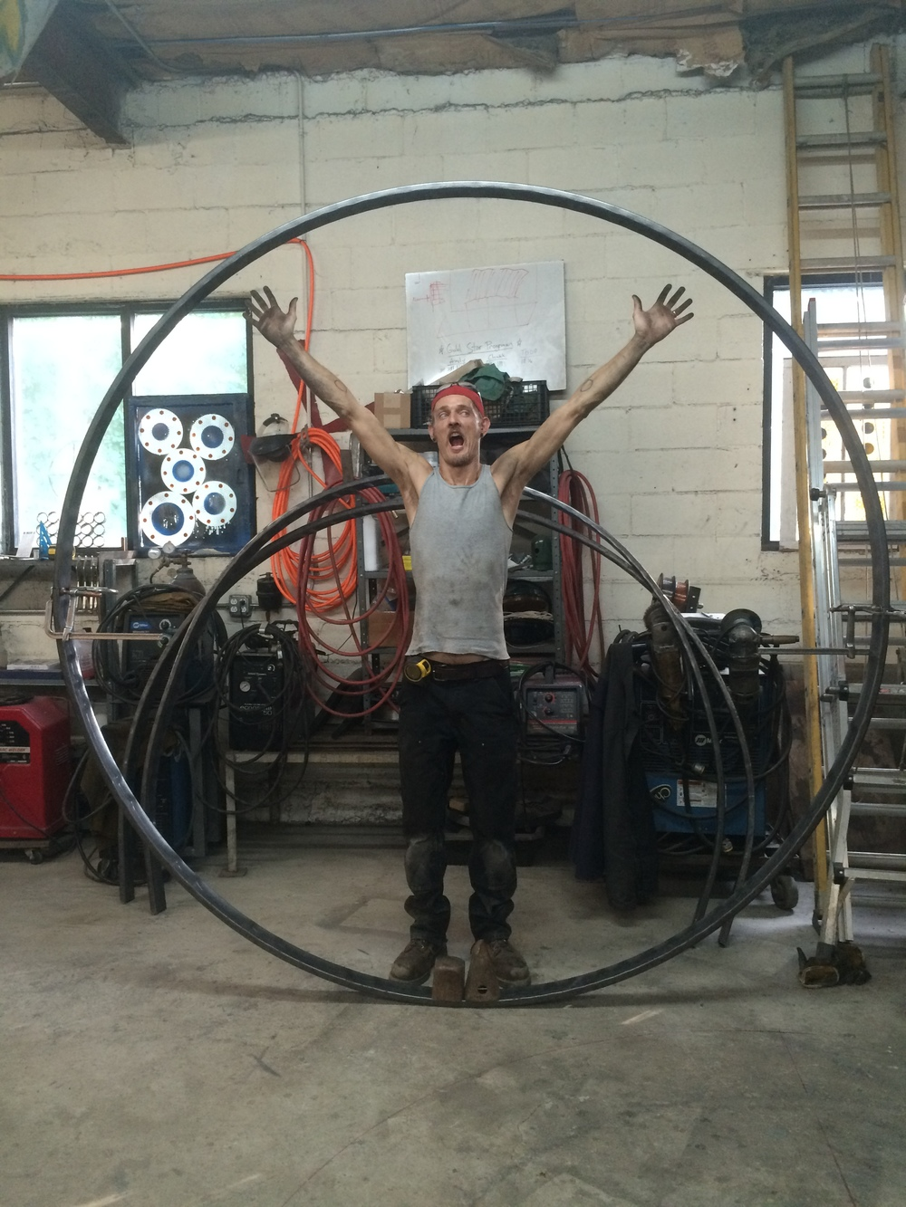 Steel Hoops for chandelier- Steel rolling