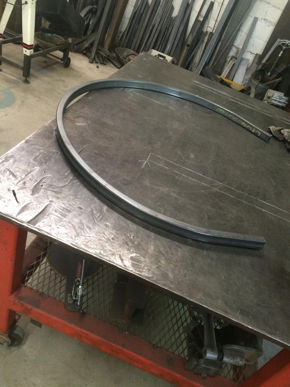 Steel arcs