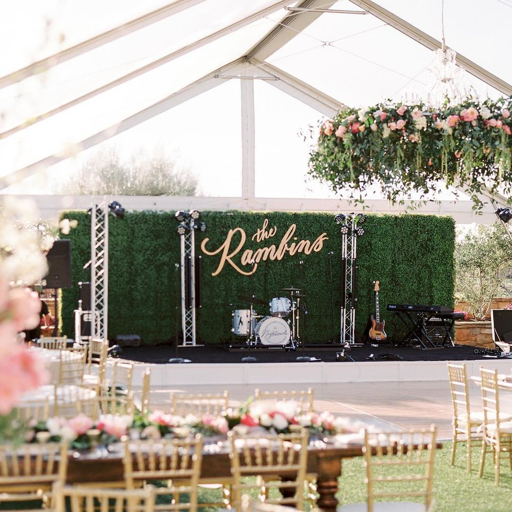 Large Wedding Backdrop