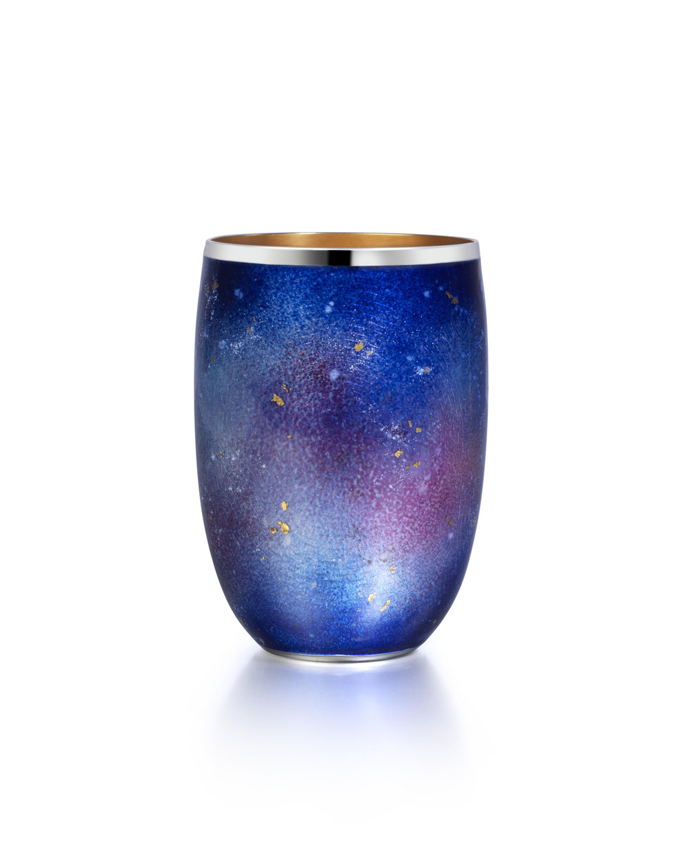 Enamel starry night