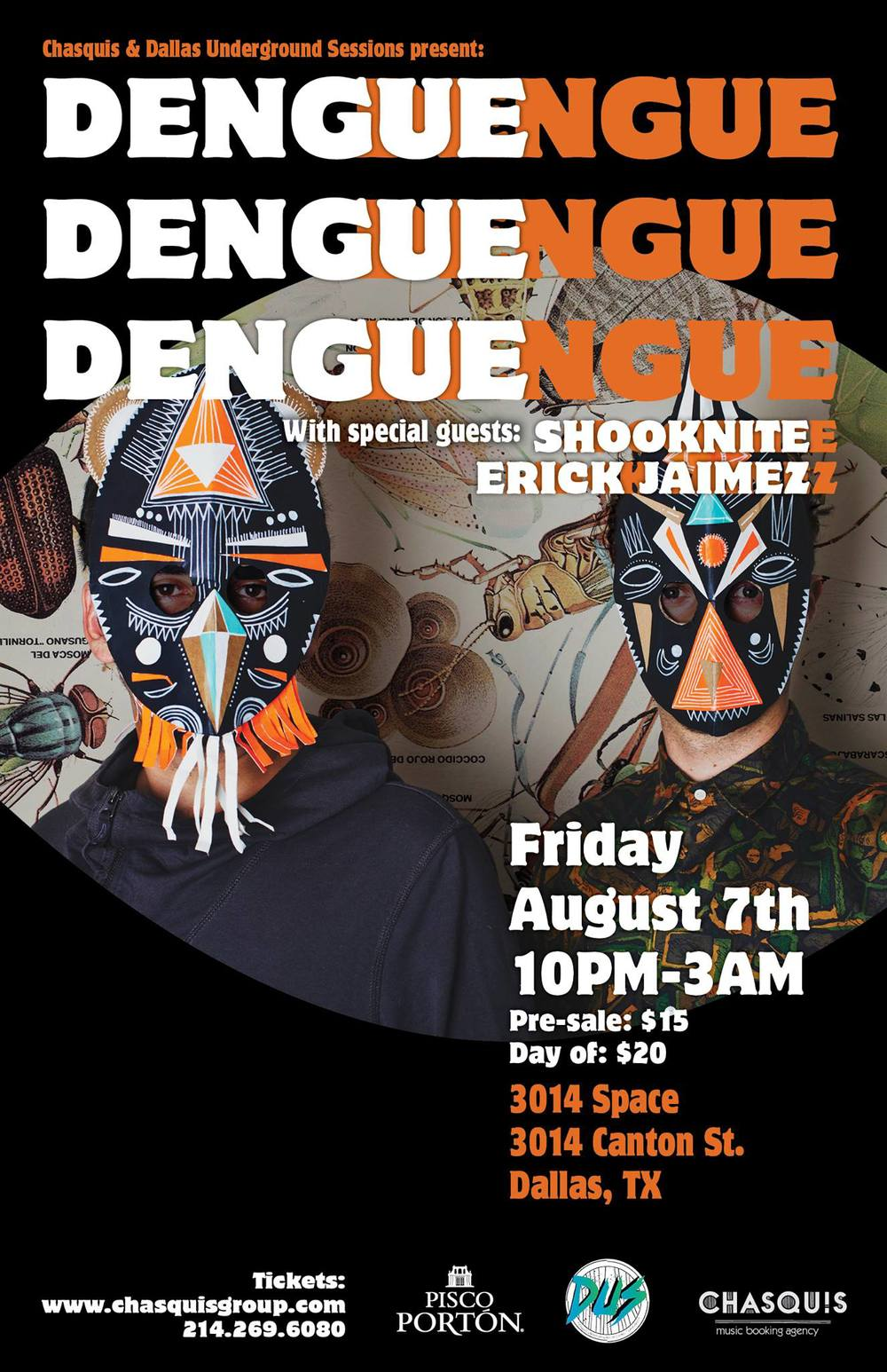 We have Dengue Dengue Dengue from Peru performing this Friday!