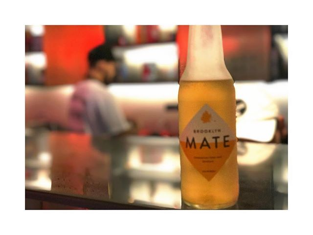 At the Press Shop, all day. #brooklynmate #yerbamate #pressshop #pressshoponbleek #naturalingredients