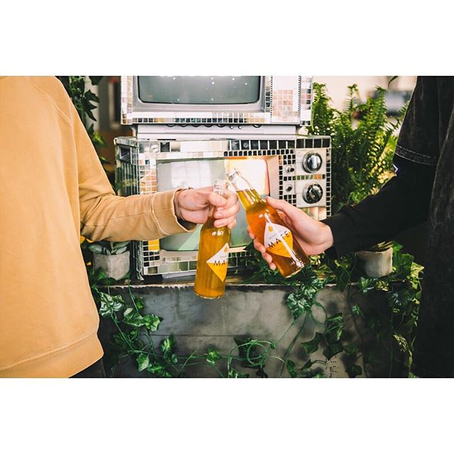 Get outside and grab a Brooklyn Mate! #isthatyouspring #yerbamate #allnatural #brooklynmate PC: SASHABPHOTO
