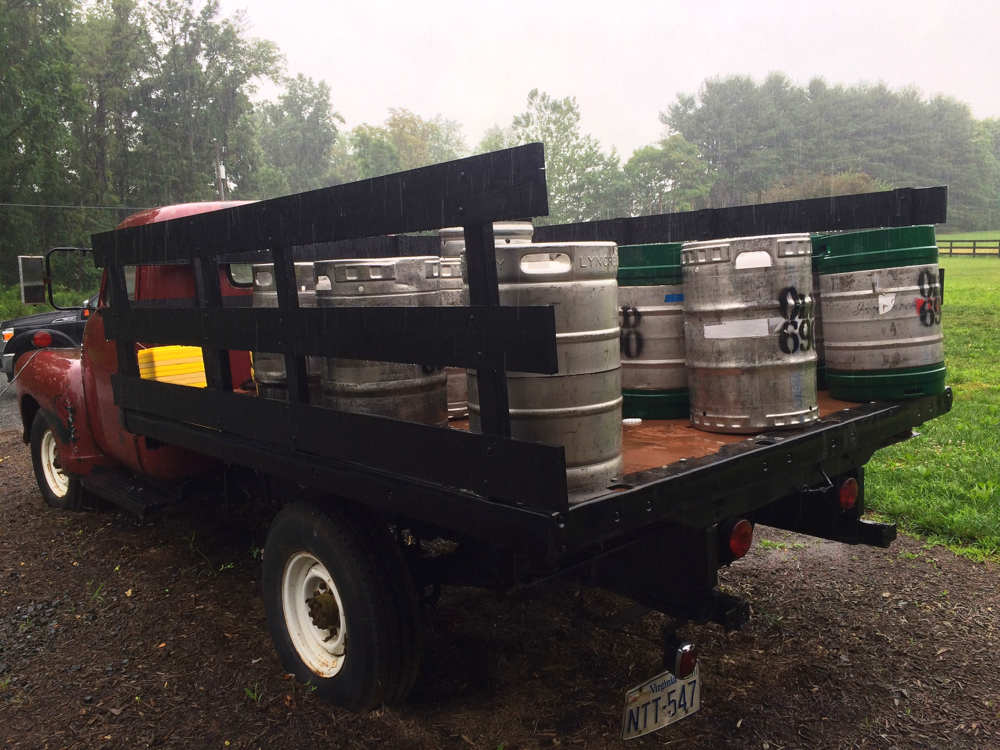 Old 690 Brewing Truck