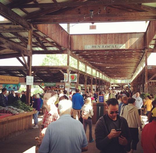 Buy Local @ the Ithaca Farmer's Market!