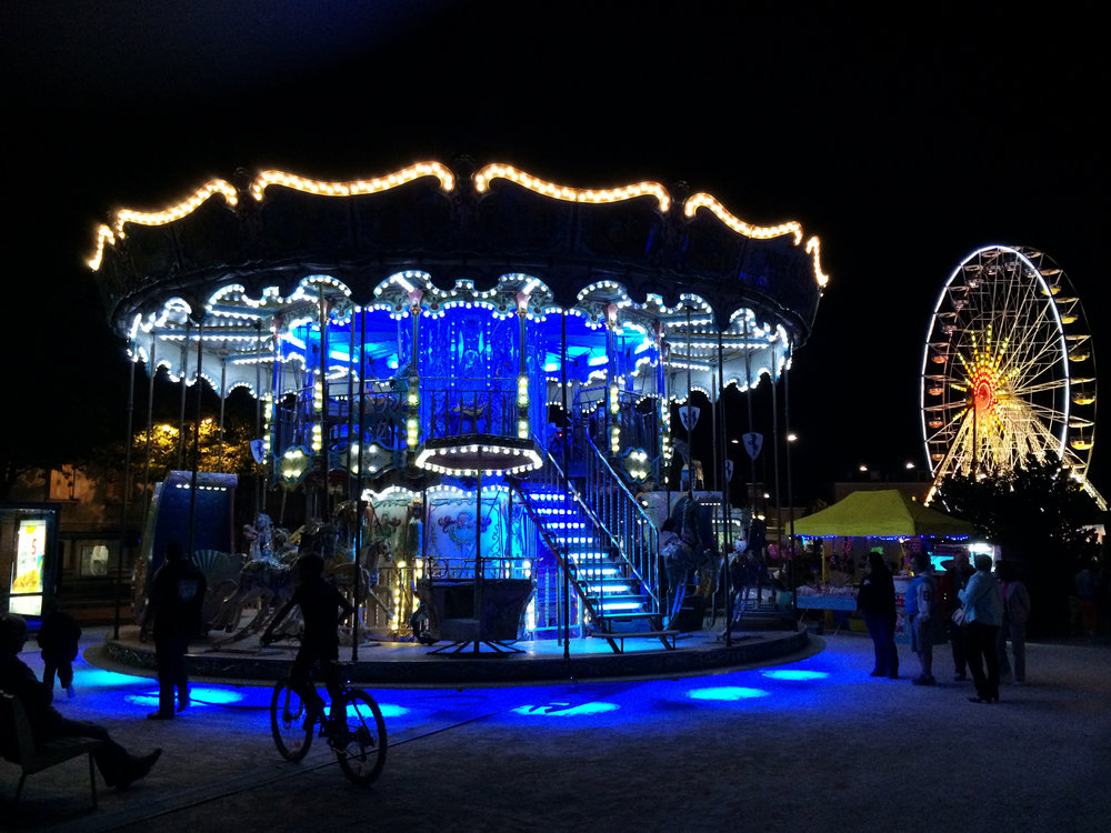 Wonderful photography opportunities in Chartres at night!