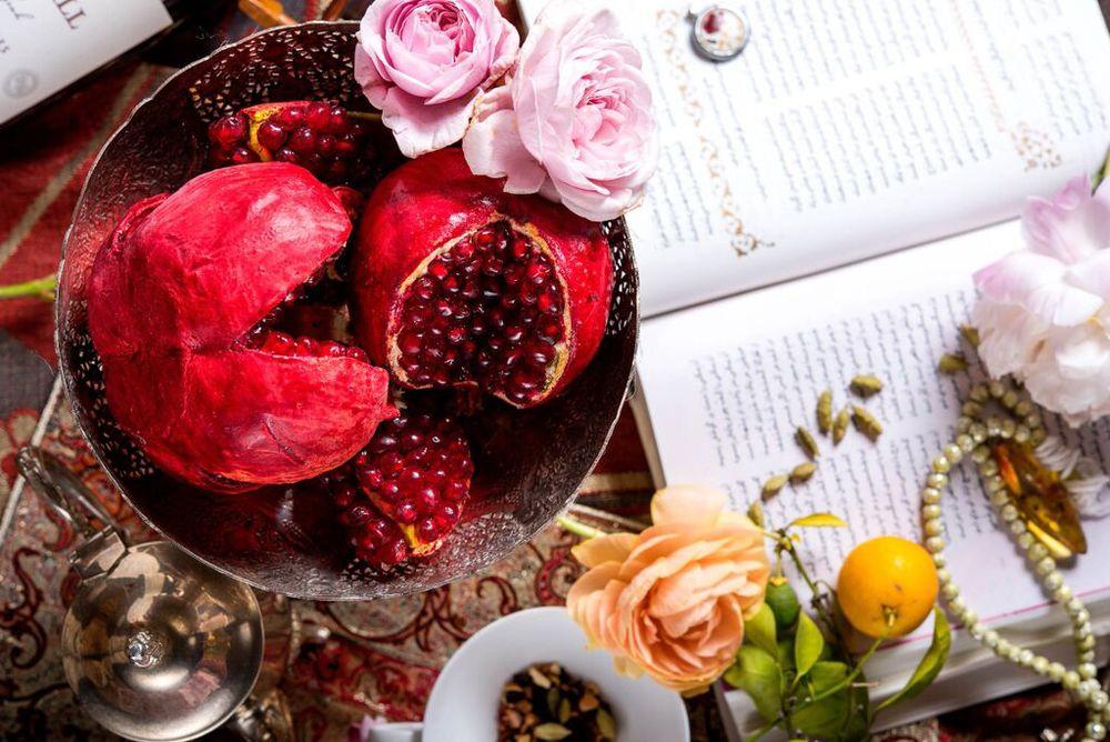 POMEGRANATE - CHOCOLATE - ROSE