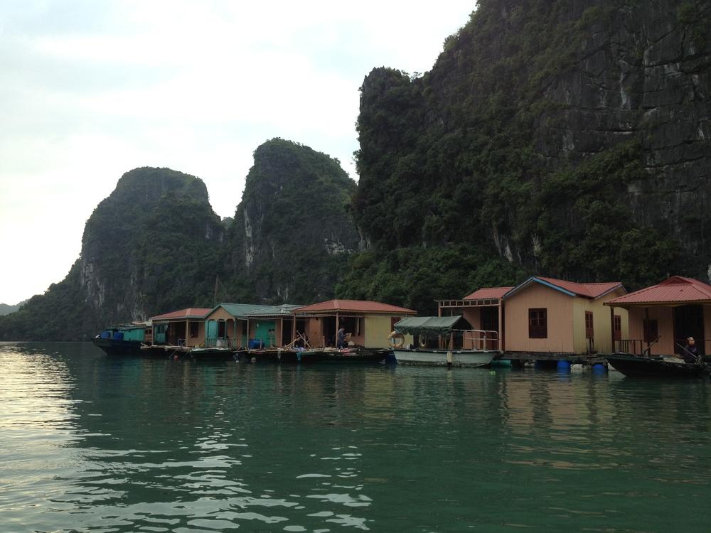 Halong Bay, Vietnam. Andrea Tuemmler, 2015.