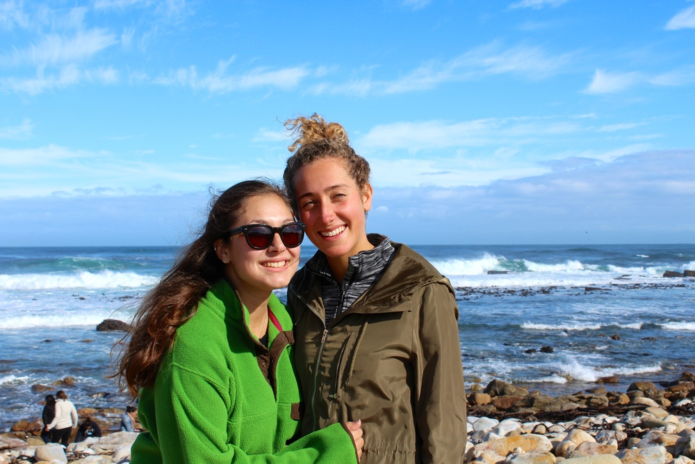 Cape of Good Hope, South Africa. Nettie Stein-Miller and Anna de Groot 2014