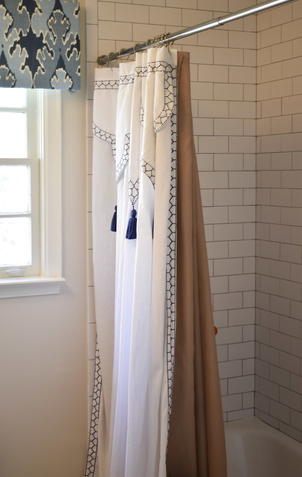 This John Robshaw Iswar Shower Curtain Was In One Of My Favorite S And I Couldnt