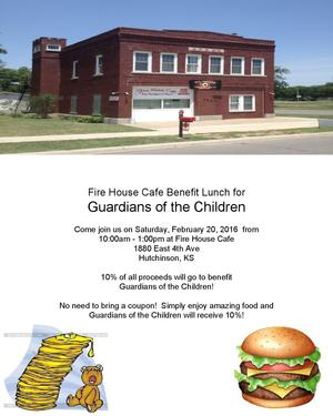 Fire House Cafe Lunch Benefit