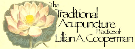 The Traditional Acupuncture Practice of Lillian Cooperman