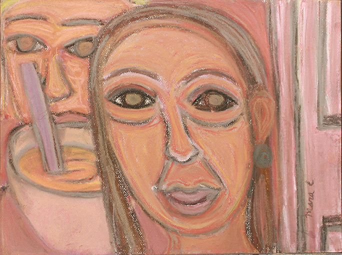 "Safety for the Couple,  2016 Soft pastel on paper 9 x        0   0   1   1   9   Mara Clawson   1   1   9   14.0                       Normal   0           false   false   false     EN-US   JA   X-NONE                                                                                                                                                                                                                                                                                                                                                                               /* Style Definitions */ table.MsoNormalTable 	{mso-style-name:""Table Normal""; 	mso-tstyle-rowband-size:0; 	mso-tstyle-colband-size:0; 	mso-style-noshow:yes; 	mso-style-priority:99; 	mso-style-parent:""""; 	mso-padding-alt:0in 5.4pt 0in 5.4pt; 	mso-para-margin:0in; 	mso-para-margin-bottom:.0001pt; 	mso-pagination:widow-orphan; 	font-size:12.0pt; 	font-family:Cambria; 	mso-ascii-font-family:Cambria; 	mso-ascii-theme-font:minor-latin; 	mso-hansi-font-family:Cambria; 	mso-hansi-theme-font:minor-latin;}      11 ¾ in."